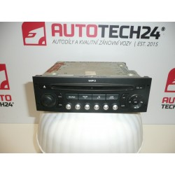 Autoradio con CD MP3 CITROEN PEUGEOT 96643698XT00