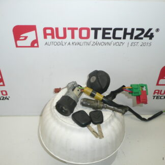 Set di serrature CITROEN C2 C3 4162CL